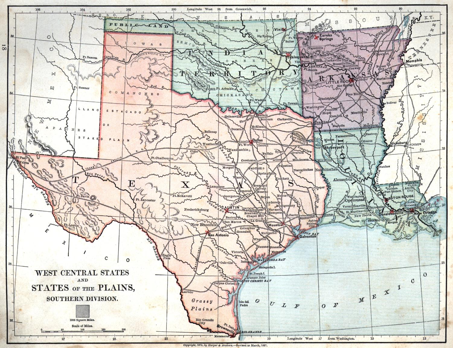 Map Of Texas Louisiana Border | My blog